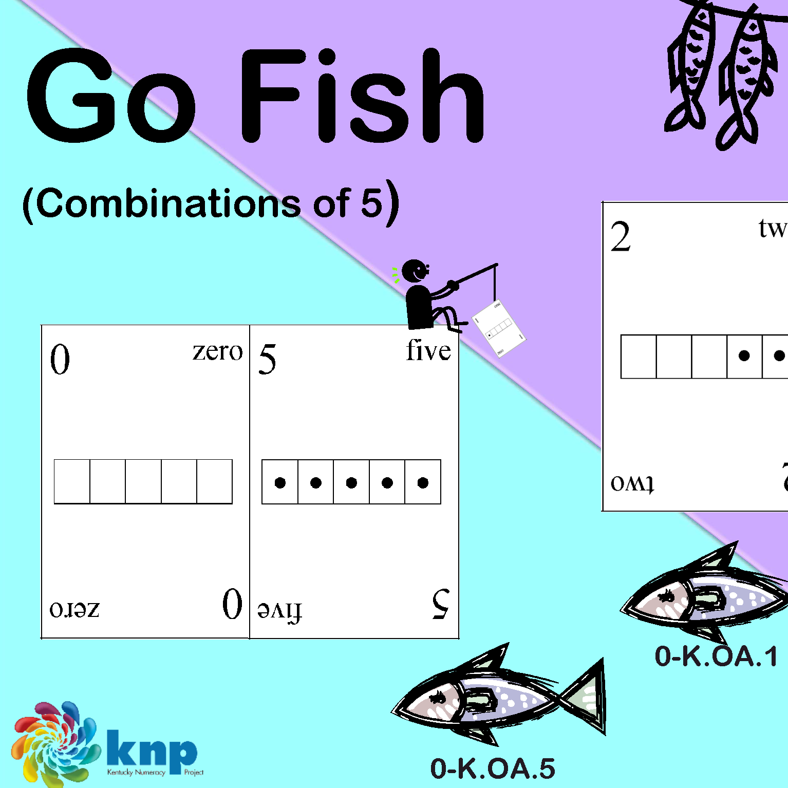Family math games and printables for Go fish games